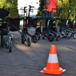 Pylonen und Rolaltoren für Rollator-Parcours
