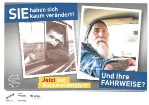 Dvw Sicher Mobil Poster Rückmeldefahrt Mann 2019x