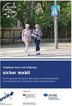 Dvw Sicher Mobil Broschuere Tn Zu Fuss 2020