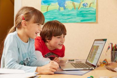 Online Radfahrausbildung Kinder Pc